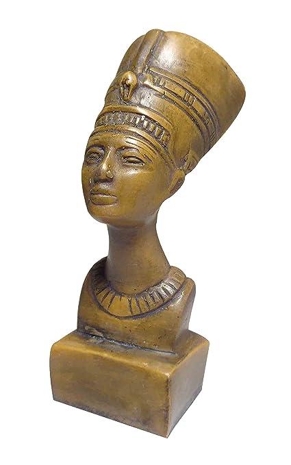 Amazon com: bonballoon Egyptian Queen Nefertiti Pharaoh Figurine