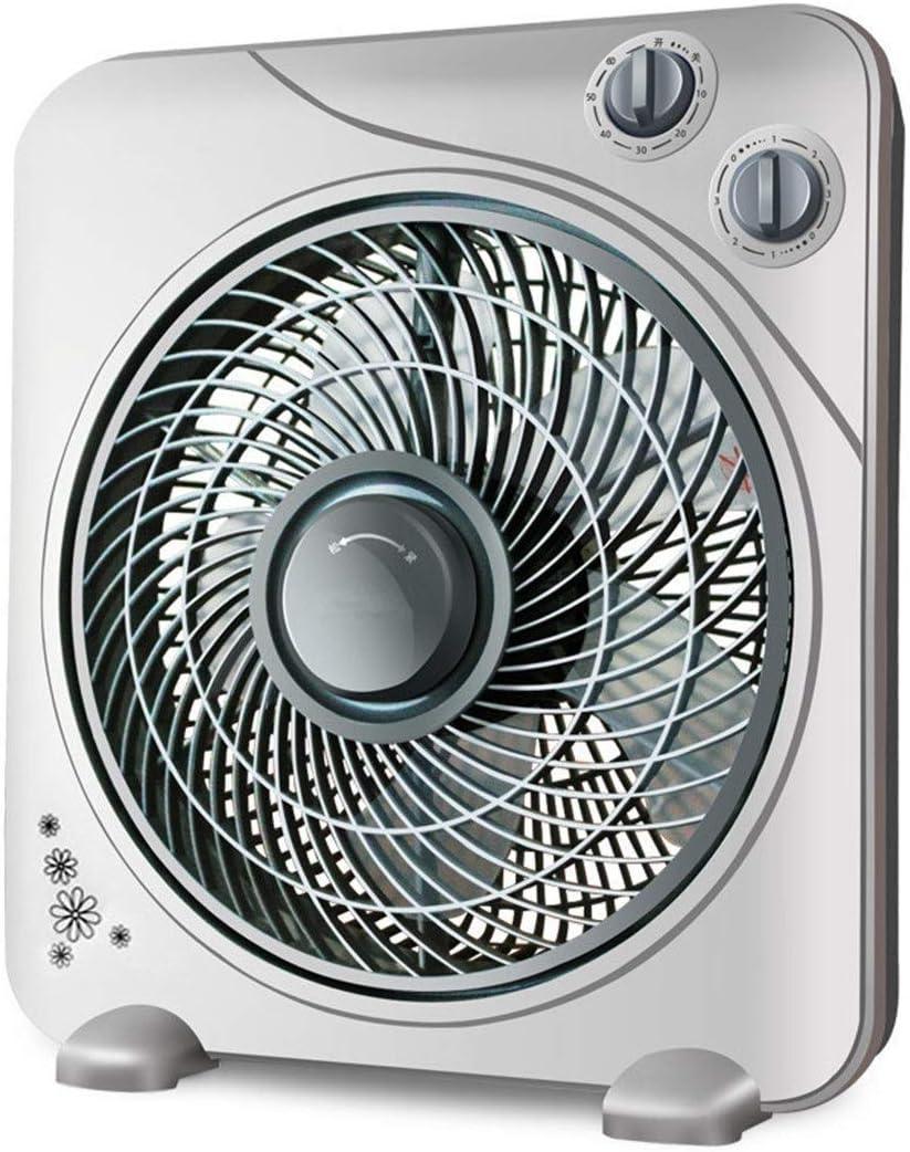 TYUIO Ventilador de Tambor ABS de Movimiento de Aire de Alta Velocidad - Ventilador de circulación de Aire de 3 velocidades - para Uso Industrial, Comercial, residencial e Invernadero