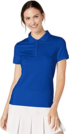 Amazon Essentials Women's Short-Sleeve Performance Polo