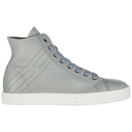 Hogan Rebel Sneakers Alte Donna Glicine 36 EU  Amazon.it  Scarpe e borse 13e05a9f4c2