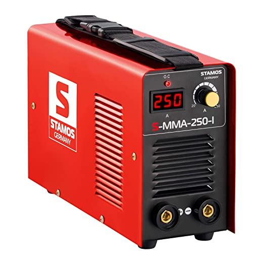 Stamos Germany S-MMA-250-I Soldador Soldadura Inverter Equipo de Soldadura Electrodo MMA (250 A, 230 V, IGBT, Basic, incl. Accesorios): Amazon.es: Bricolaje ...