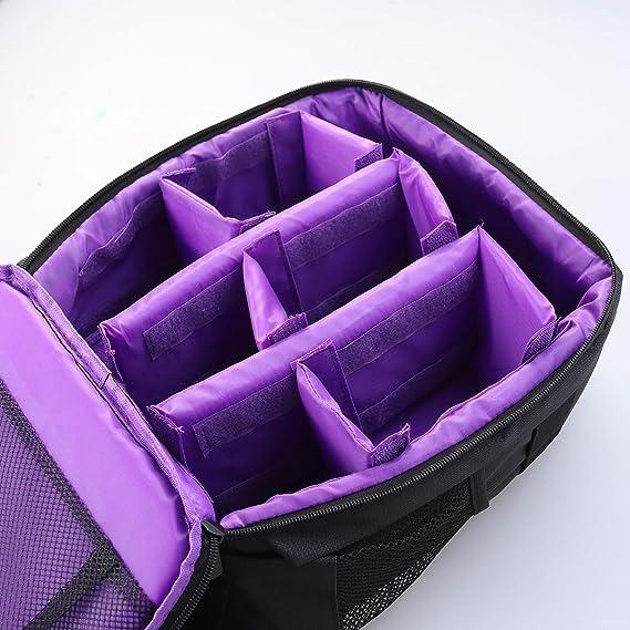 Amazon.com: Mobestech DSLR Mochila para cámara con compartimientos Impermeable, Exterior, multifuncional, bolso de la cámara, Mochila, para amantes de la ...