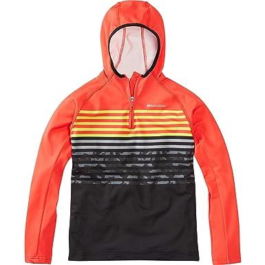 3c14cb84759 Madison Zen Youth Long Sleeve Hooded Top  Amazon.co.uk  Sports   Outdoors