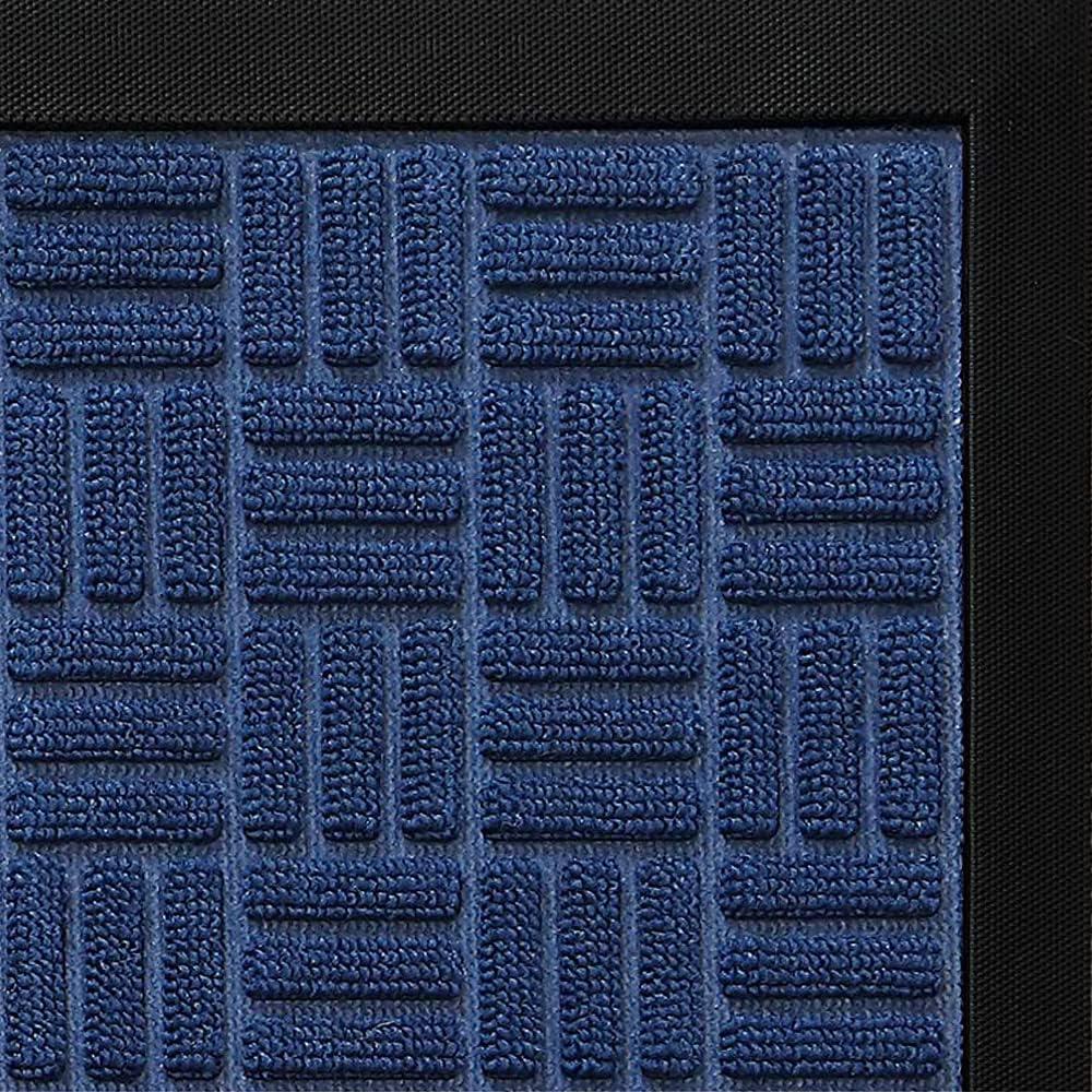 DEXI Door Mat Front Indoor Outdoor Doormat,Small Heavy Duty Rubber Outside Floor Rug for Entryway Patio Patio Waterproof Low-Profile,23
