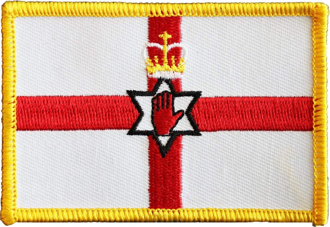 NORTHERN IRELAND Northern Irish Country Flag Embroidered PATCH Badge *NEW*