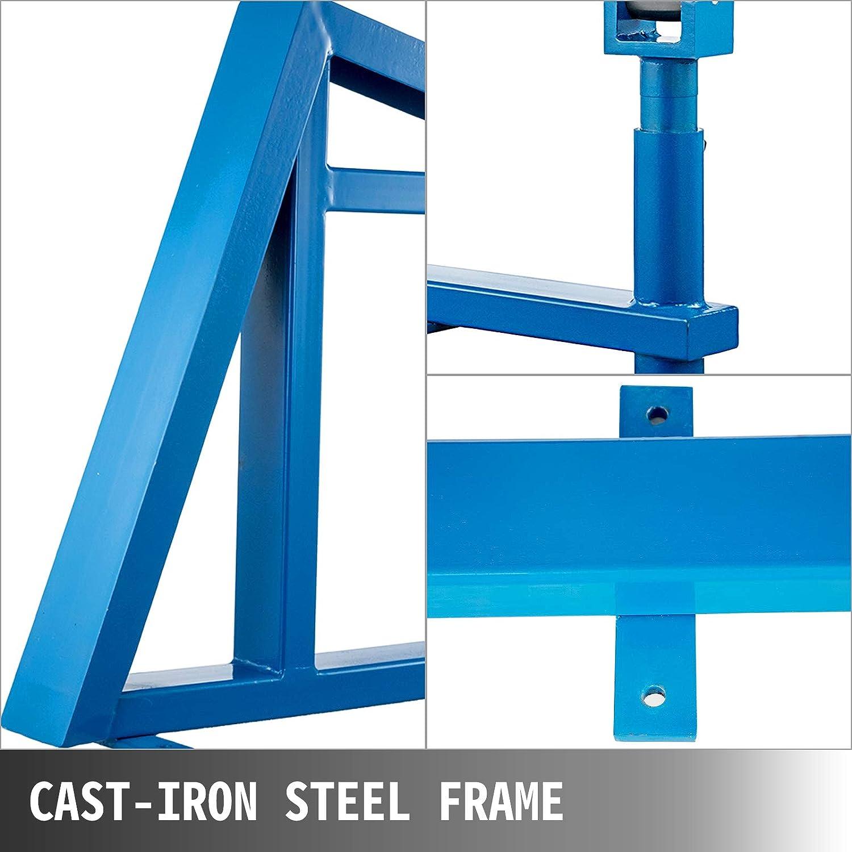OldFe 2 Rollenstreckmaschine F560 English Wheel Gl/ätthammer blau f/ür Flussstahl Aluminium und Kupfer