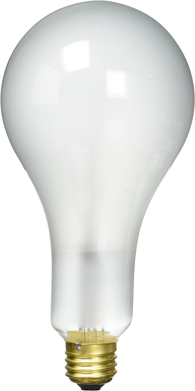 Westinghouse Lighting 0397500, 300 Watt, 120 Volt Frosted Incand PS30 Light Bulb, 750 Hour 5860 Lumen