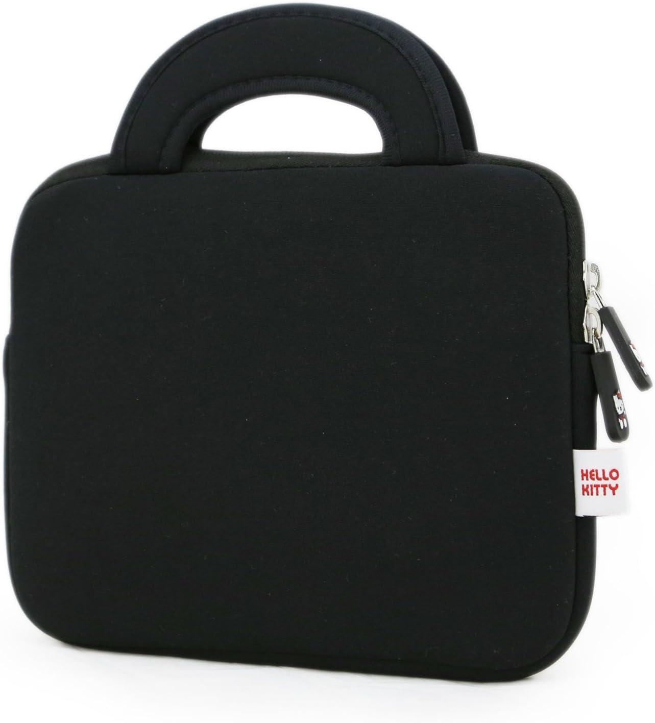 Black Phenix-Color Hello Kitty Little Bear Bag Sleeve Case for Ipad 2 3 4 // iPad Air // iPad Air2 Google Nexus Hp Touchpad Motorola Xoom and any 10.1inch or less Tablet Smasung Galaxy Tab 10.1V