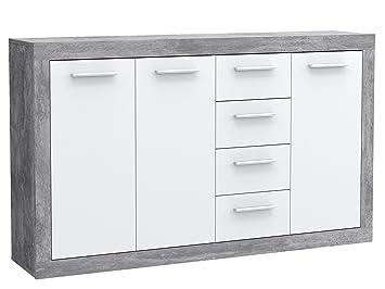 Sideboard Standschrank Anrichte Beistellschrank Kommode Schrank \