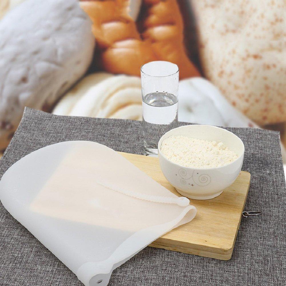 Kneading Bag Silicone Kneading Dough Bag Non Toxic Non Stick Versatile Making Flour Mixer Maker Bakeware Kitchen Tools for Bread Pastry Pizza Tortilla