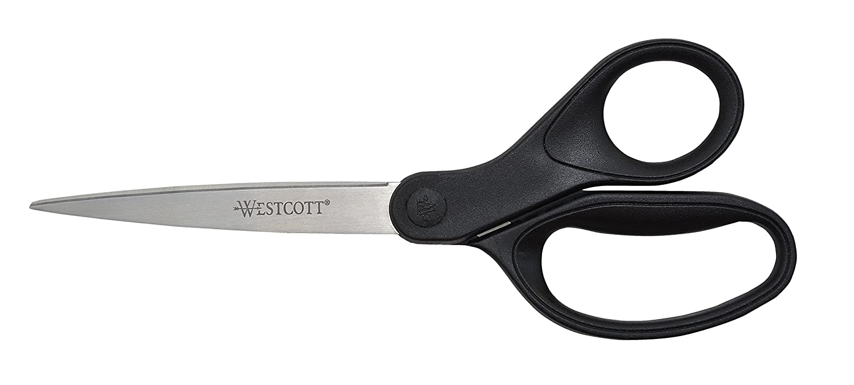 Westcott Recycled 8-Inch Straight Scissor (16451)