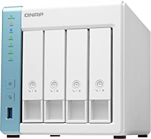 QNAP TS-431K 4 Bay Home NAS with Two 1GbE Ports