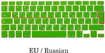 EU/Us Funda de Silicona para Teclado de MacBook Pro 13 15 ...