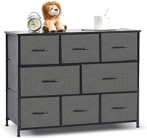 8 Drawers Fabric Storage Organizer Clothes Drawer Dresser