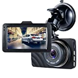 "Dash Cam,ViiVor FHD 1080P Dash Cam 3.0"" Car Camera Traveling Driving Data Recorder Camcorder Vehicle Camera Night Vision Dashboard Camera With 140 Degree Angle"