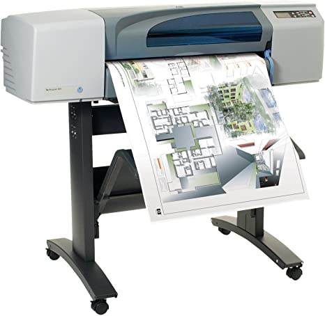 HP Designjet 500 Plus 24-in Roll Printer - Impresora de Gran Formato (1200 x 600 dpi, HP-GL/2, 610 x 1067 mm, 610 mm, 5 mm, 4 (1 Each Black, Cyan, Magenta, Yellow)): Amazon.es: Informática