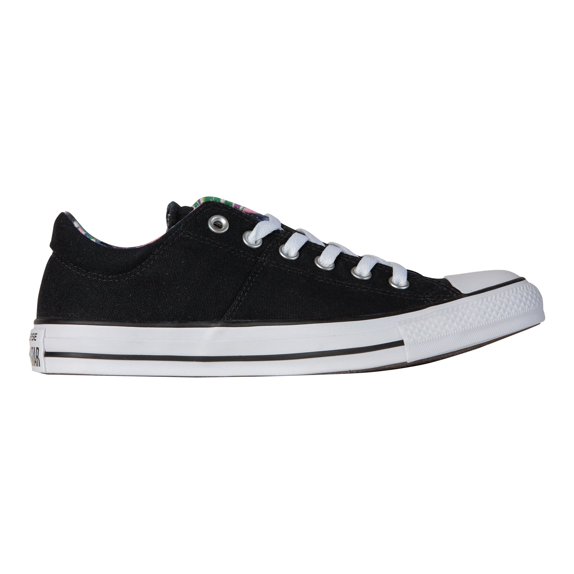 Converse Women's Chuck Taylor All Star Madison Sneakers, Black/White/White, 8 B(M) US by Converse (Image #4)