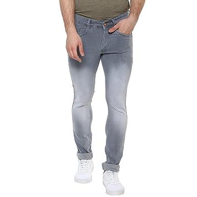 edfaeea5221 Urbano Fashion Men s Light Grey Slim Fit Stretchable Jeans (hps-lgrey-28-