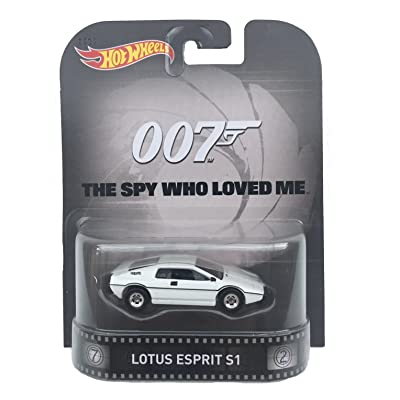 "Lotus Esprit S1 James Bond 007 ""Spy Who Loved Me"" Hot Wheels 2015 Retro Series 1/64 Die Cast Vehicle: Toys & Games"