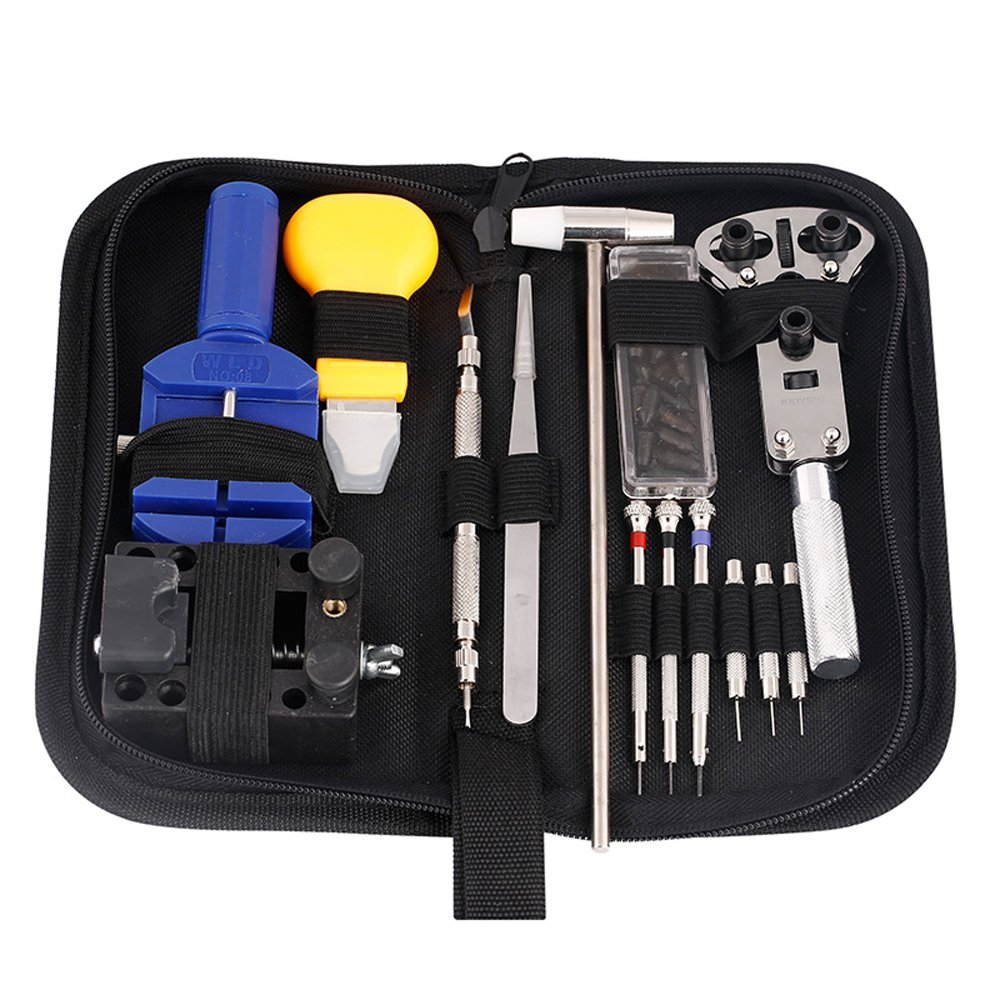 Watch Repair Tool Kit Set Professional Set Watch Link Pin Tool Back Opener Remover Watch Maintance Kits