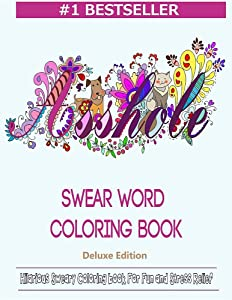 Swear Word Coloring Book Hilarious Sweary For Fun And Stress Relief