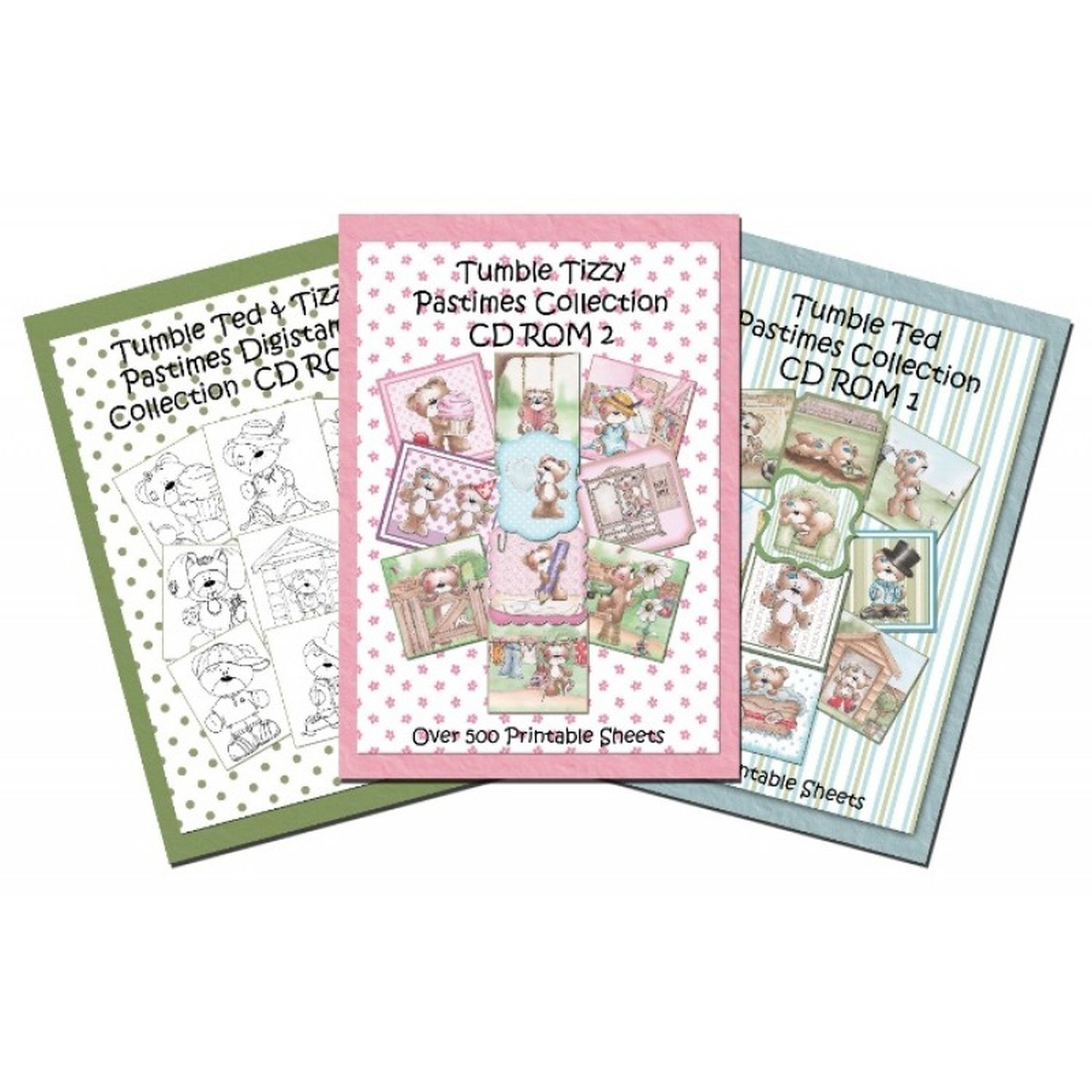 Creative World of Crafts Tumble Ted Pastimes CD Rom by Creative World of Crafts