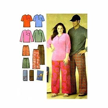Tallas para hombre adolescentes para pijamas pantalones cortos Knit Top Mando a distancia soporte patrón de