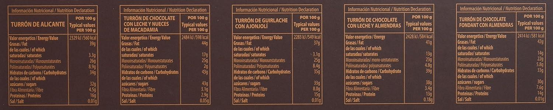 Pablo Garrigós Ibáñez Turrón - 10 Porciones: Amazon.es: Alimentación y bebidas
