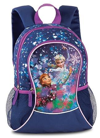 346dad53634bb Kinderrucksack Anna   Elsa aus  quot Die Eiskönigin quot  Mädchen Rucksack  Tasche mit Vortasche