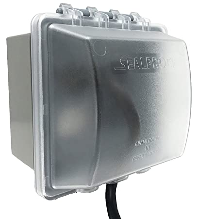 Sealproof 2 Gang Weatherproof In Use Outlet Cover Two Gang Outdoor