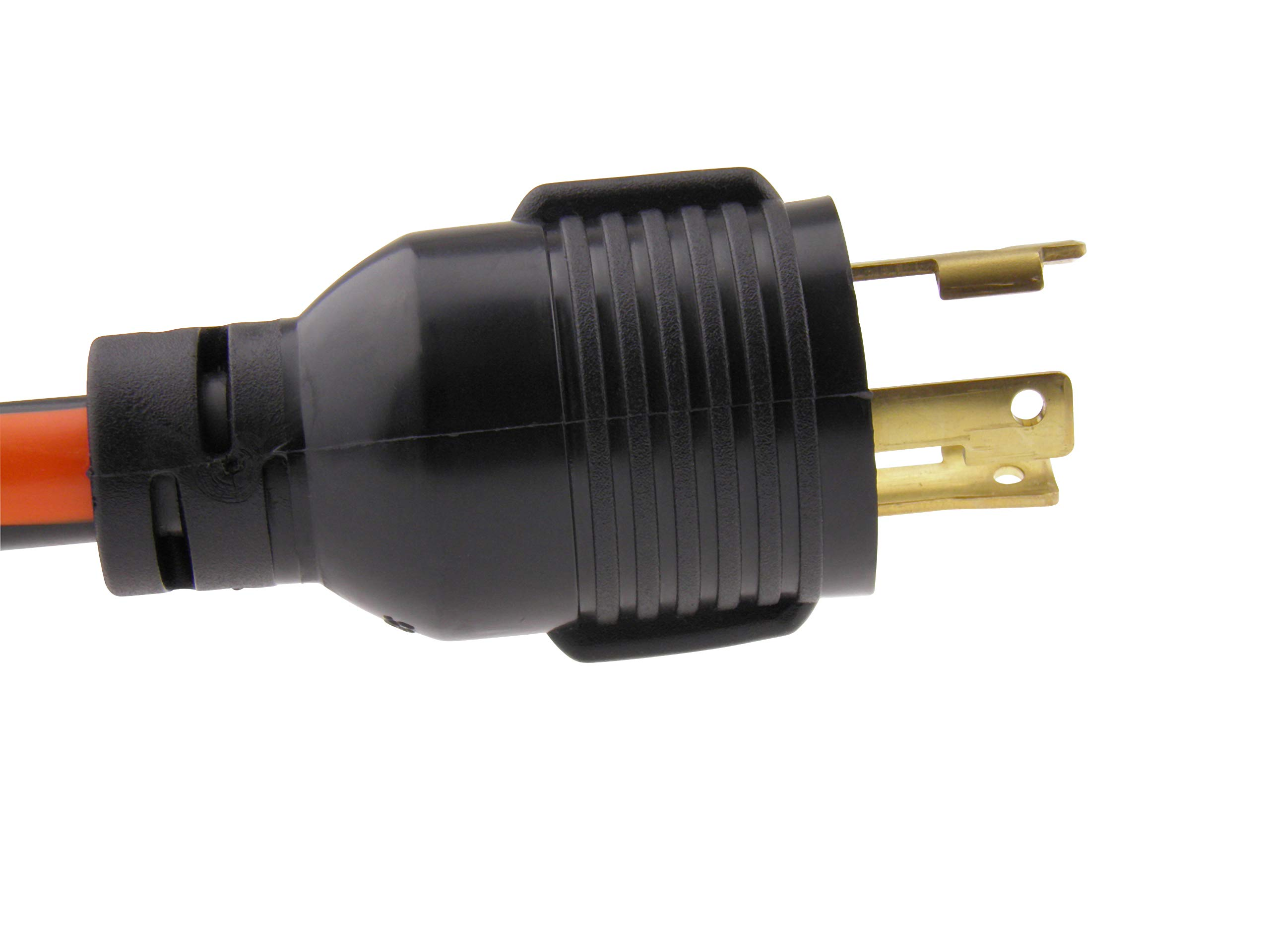 MPI Tools Nema L5-30 Generator Power Cord 3 Wire 10 Gauge 125v 30 Amp (Pigtail Adapter L5-30P to 5-15R) by MPI Tools (Image #3)