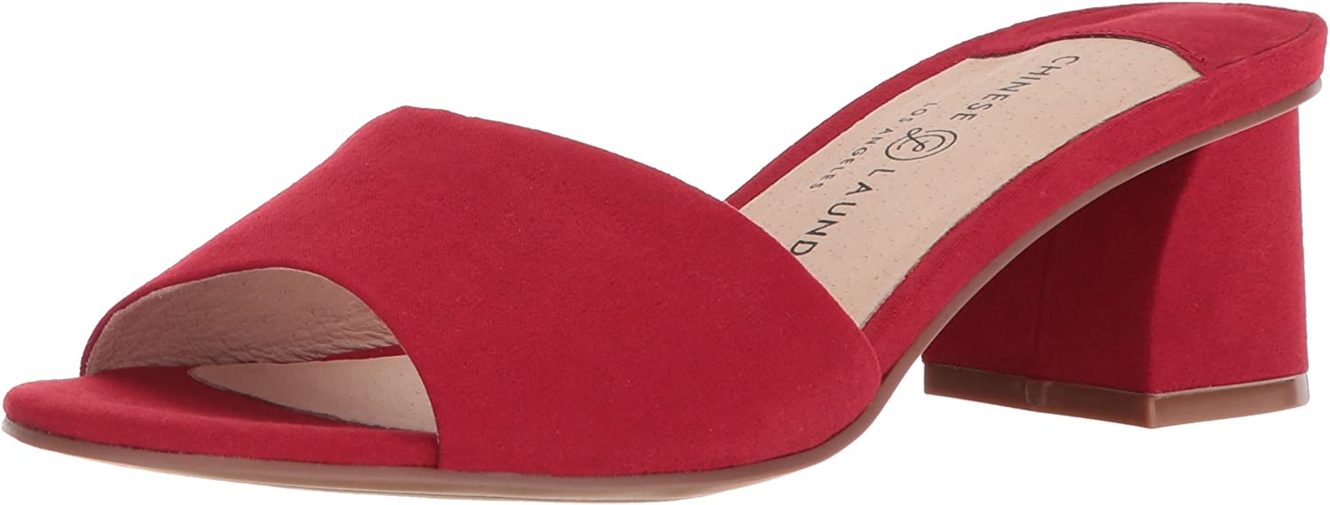 Chinese Laundry Womens My Girl Open Toe Special Occasion Slide Sandals