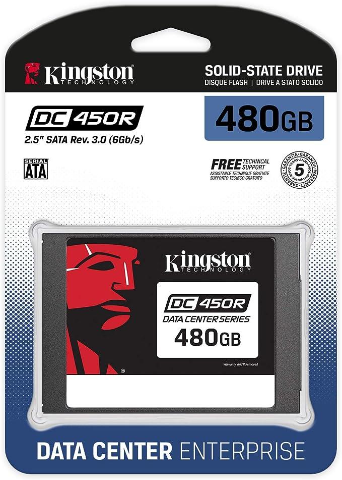 Kingston Data Center DC450R SSD (SEDC450R/480G) 2.5