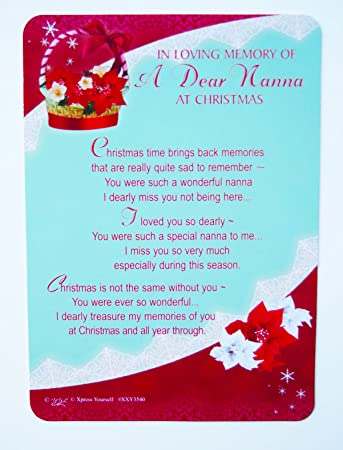 Missing Dad At Christmas.Everything Else Memorials Funerals Memorial Grave Card