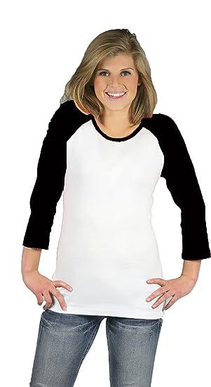 ab073c23e Amazon.com: Monag Women Raglan T-Shirt: Clothing