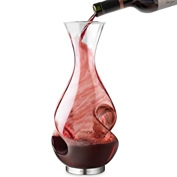 Final Touch L'Grand Conundrum Glass Decanter