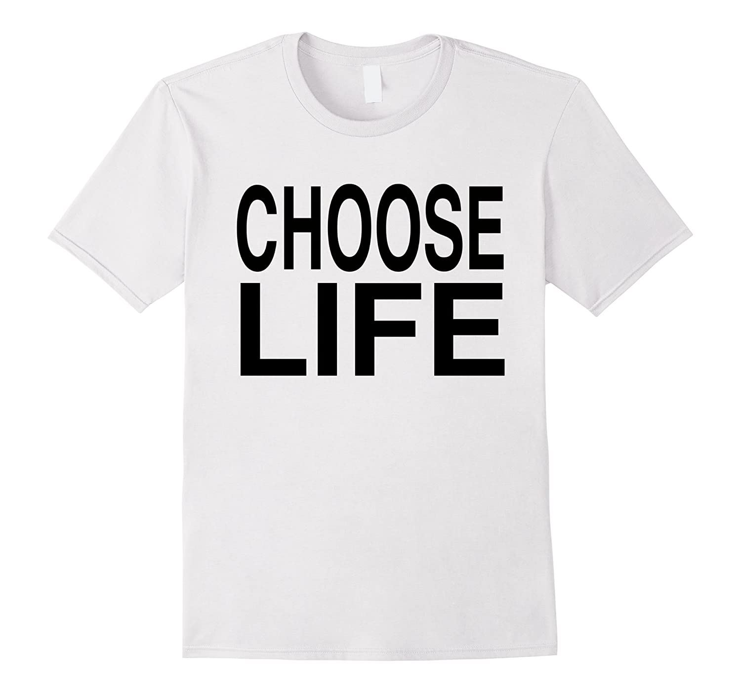 Choose Life - Vintage Retro 80s T-Shirt-TD
