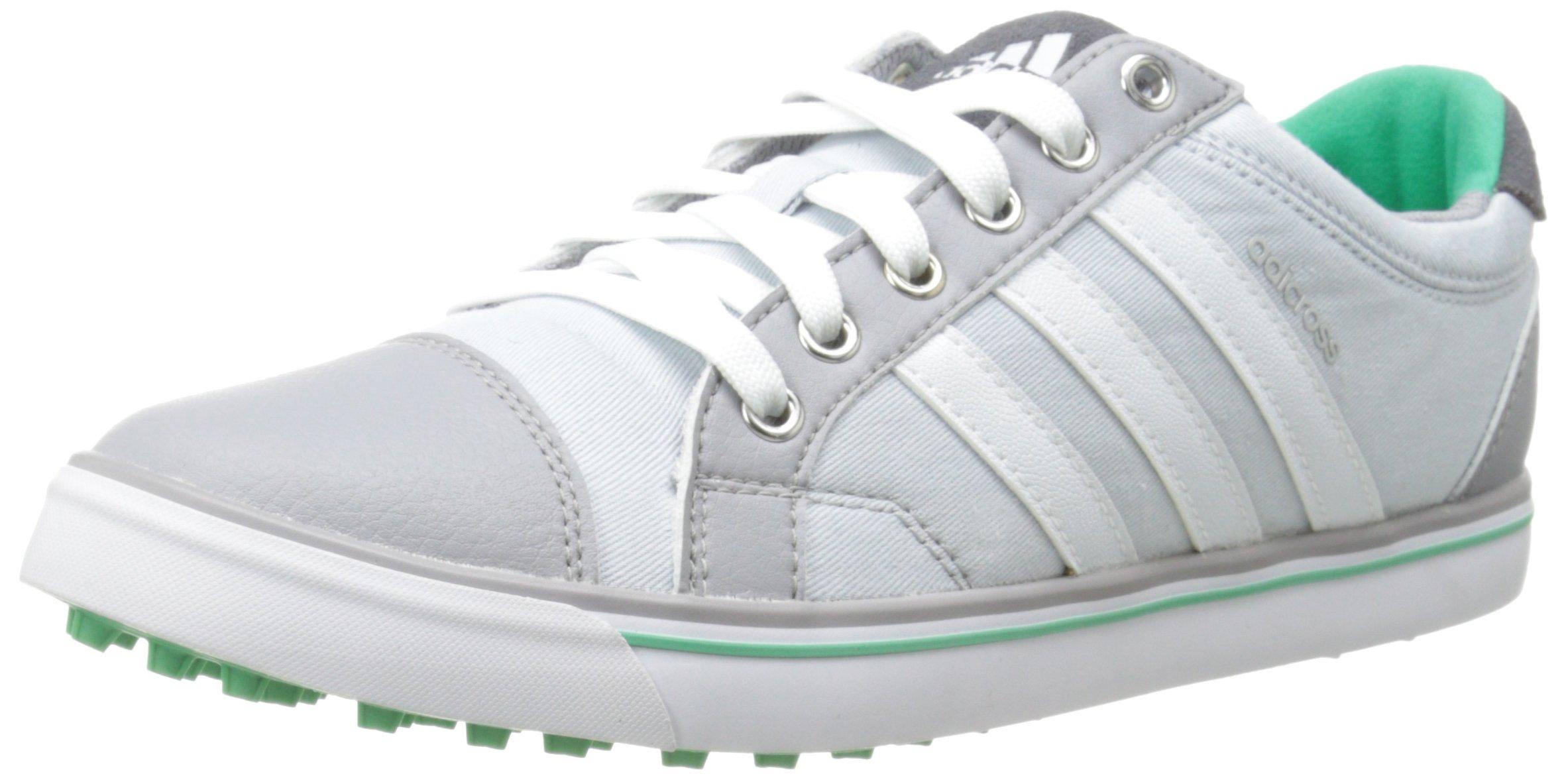 adidas Women's W Adicross IV Golf Shoe, Clear Grey/FTW White, 9 M US