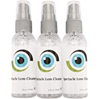 New Leader Liquid Lens Cleaner 3 x 59ml Bottles of Lens Cleaner for Eyeglasses Spectacles