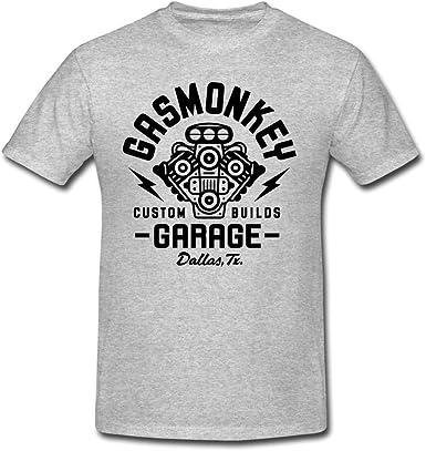 Gas Monkey Garage Herren Shirt T-Shirt Vintage Athletic Black