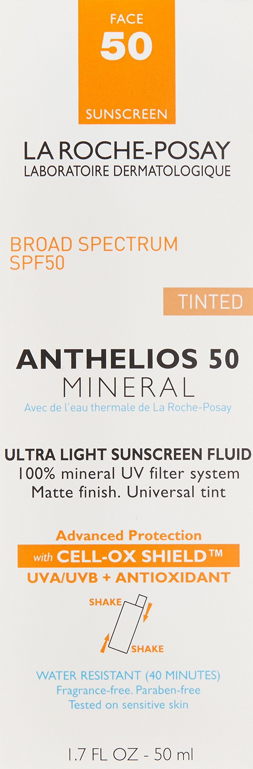 La Roche-Posay Anthelios Ultra-Light Tinted Mineral Sunscreen SPF 50, 1.7 Fl. Oz. by La Roche-Posay (Image #3)
