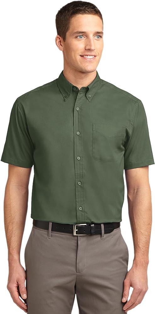 00fdf76d Port Authority Men's Short Sleeve Easy Care Shirt 3XL Clover Green ...