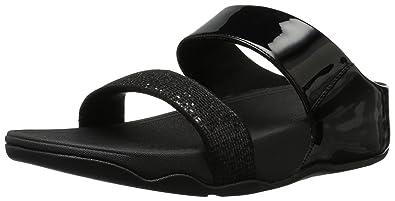 4d3cf71fa05d FitFlop Women s Lulu Superglitz Slide Sandal