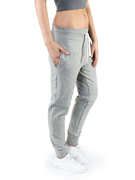 preiswert kaufen Großhandelspreis 2019 offizielle Seite Casual Standard Jogginghose Damen grau Sweatpants Sporthose Trainingshose  Jogger