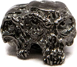 product image for Schmuckatelli Co. Gemini Twins Skull Bead
