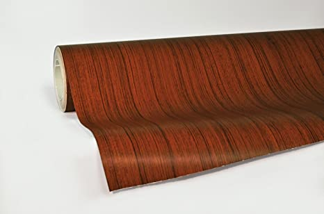 VViViD Oak Wood Grain Faux Finish Textured Vinyl Wrap Sheet Roll Film DIY  No Mess Easy to Install Air-Release Adhesive (2ft x 48