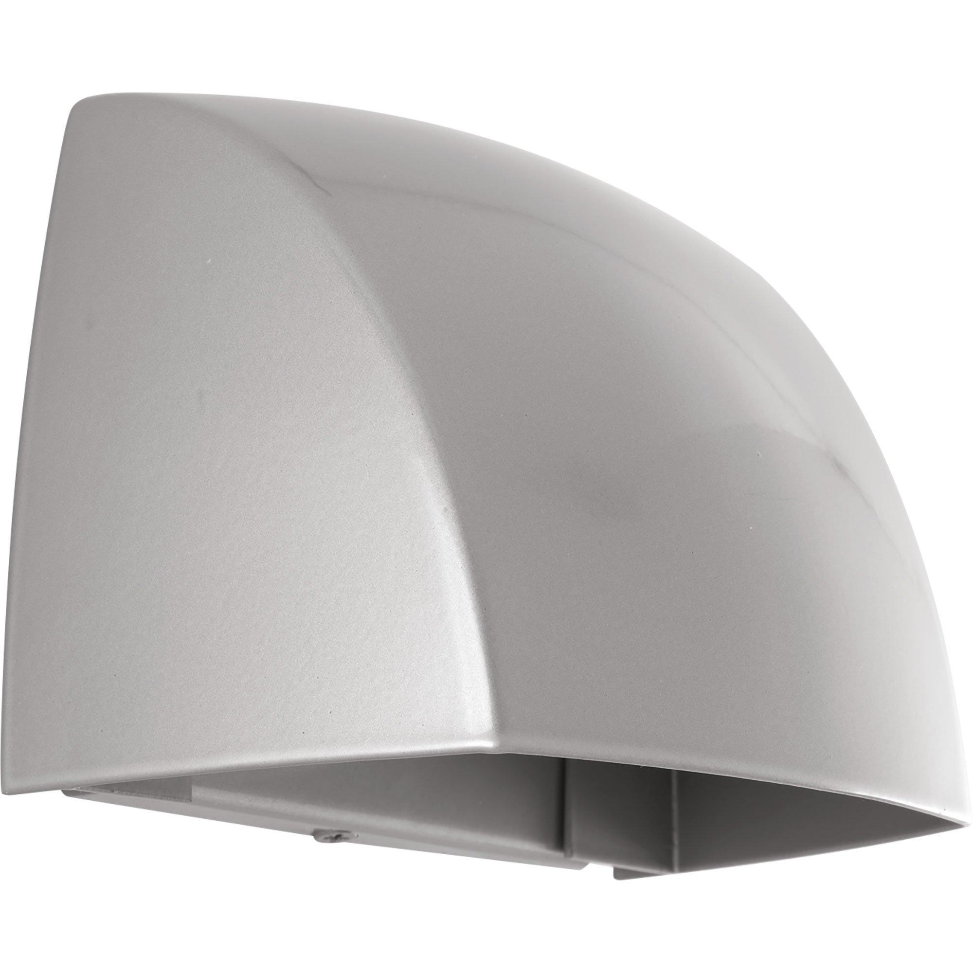 Progress Lighting P5634-8230K9 Cornice One-Light Wall Sconce with HAL AC LED Module, Metallic Gray