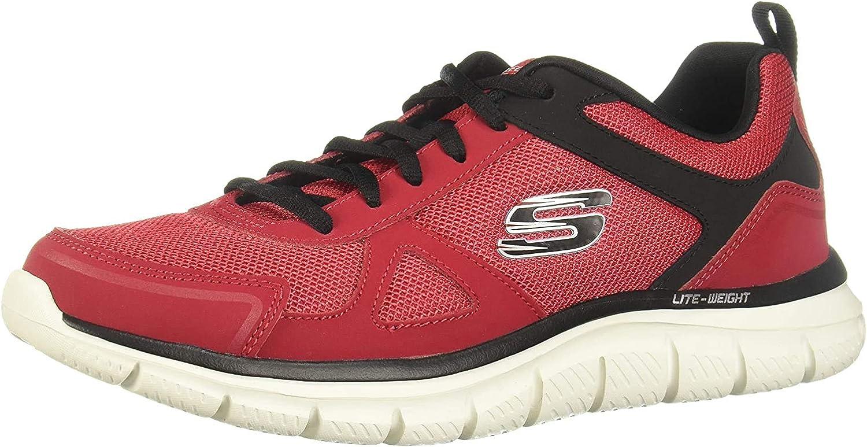 Skechers Track-scloric 52631-bbk Sneakers Basses Homme