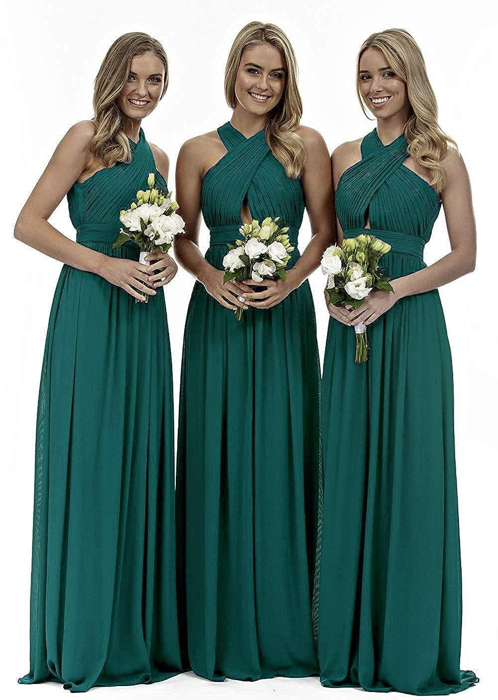 Dark Green liangjinsmkj Womens Knee Length V Neck Lace Mother of The Bride Dress A line with