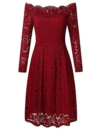 Dress for Women, Evening Cocktail Party On Sale, Red, Cotton, 2017, 10 12 8 Fay